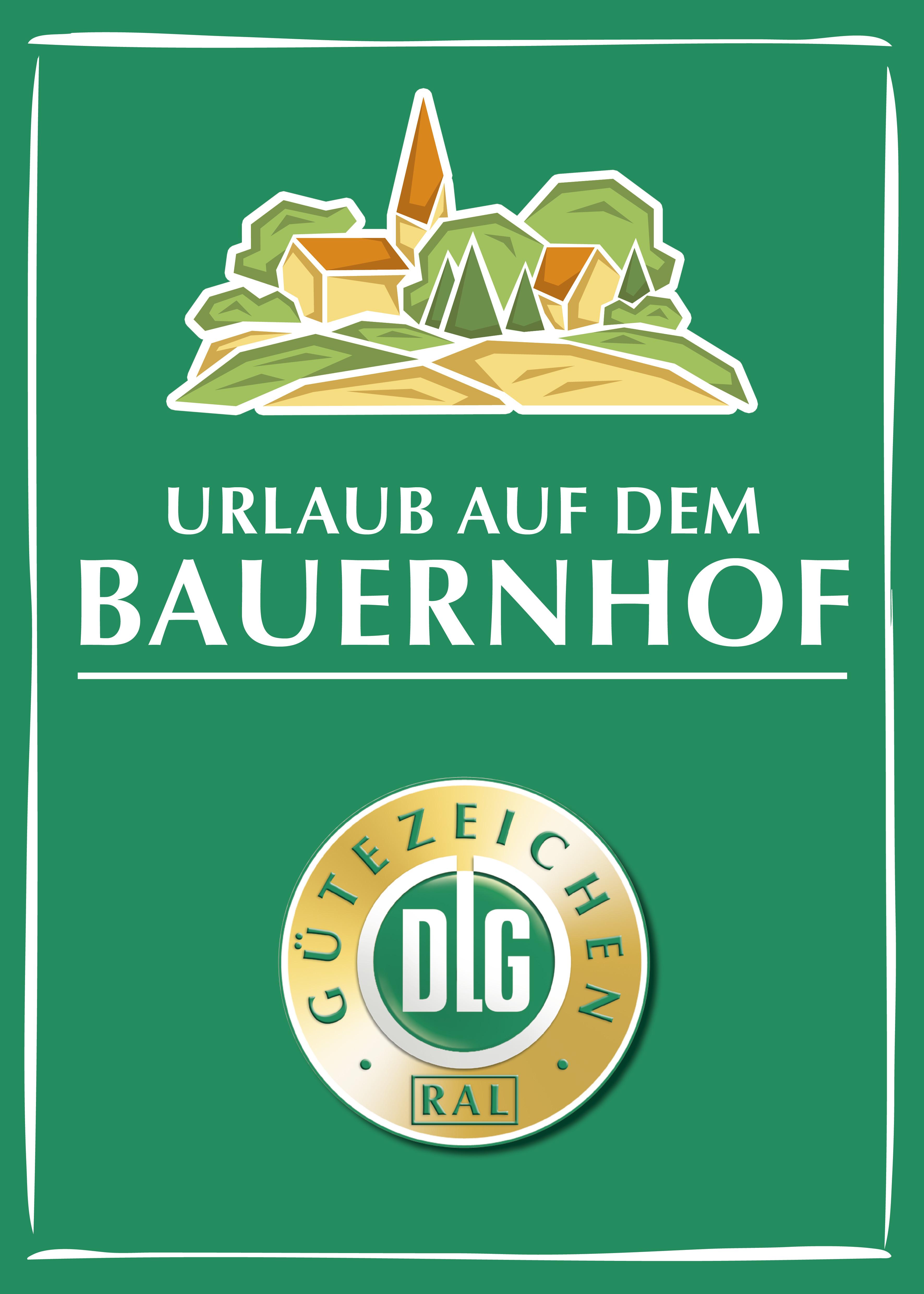 DLG-Logo für Urlaub auf dem Bauernhof